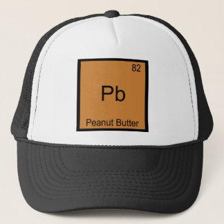 Boné Pb - t-shirt engraçado da química do elemento da