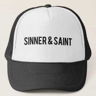 Boné Pecador e santo