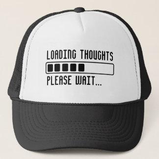 Boné Pensamentos da carga