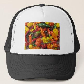 Boné Pilha do pimentão