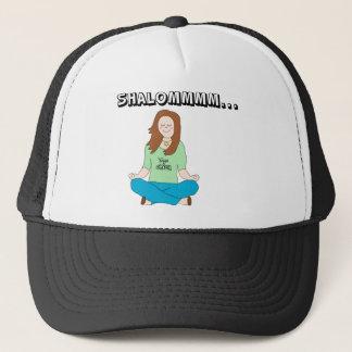 Boné Pintinho judaico engraçado Shalommm da ioga