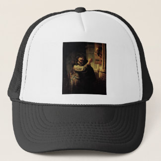 Boné Pintura da arte de Rembrandt