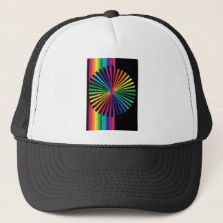 Boné PinWheel do arco-íris