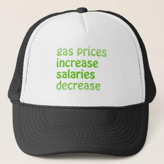 Boné Preços de gás
