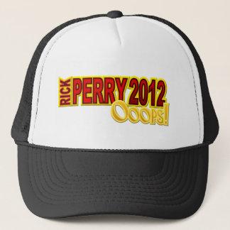Boné Presidente 2012 Oops design de Perry