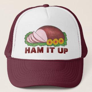 Boné PRESUNTO ELE ACIMA do chapéu da comida do comensal