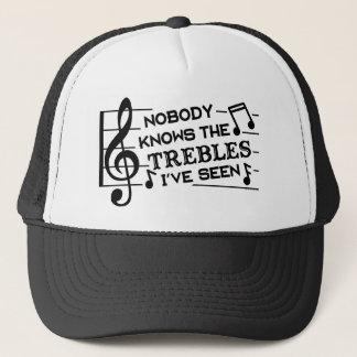 Boné Professores de música engraçados da chalaça | da