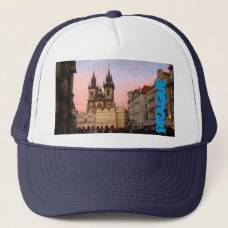 Boné Quadrado de cidade velho Praga, chapéu da