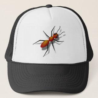 Boné Rastejamento vermelho da formiga