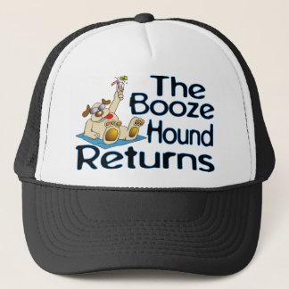 Boné Retornos do cão das bebidas