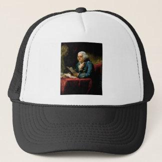 Boné Retrato de Benjamin Franklin