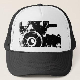 Boné retro/chapéu do camionista da máscara de gás