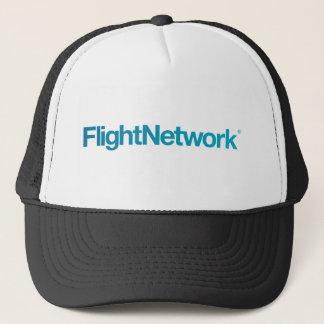 Boné Roupa do logotipo da rede do vôo