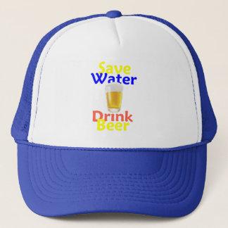 Boné Salvar o chapéu da bebida da água