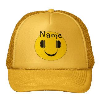 Boné Smiley música a personalizar