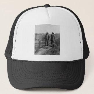 Boné Teddy Roosevelt e John Muir em Yosemite