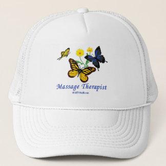 Boné Terapeuta da massagem da borboleta
