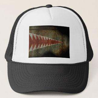 Boné textura da boca do tubarão