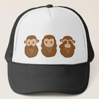 Boné Three Little Monkeys