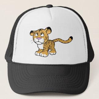 Boné tigre dos desenhos animados