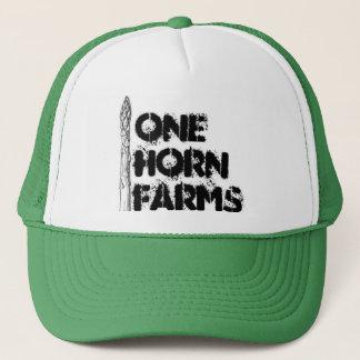 Boné Um chifre cultiva o chapéu