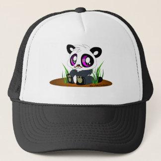 Boné Urso de panda com bigode
