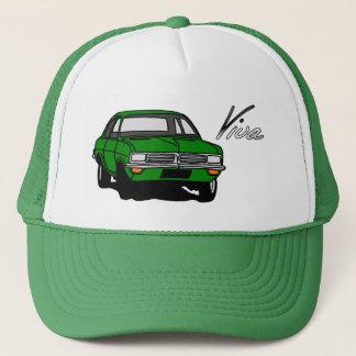 Boné Vauxhall verde Viva HC