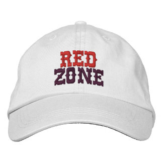 Boné vermelho da bola da zona de MaggHouze