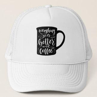 Boné Viciado engraçado Java do café, citações da