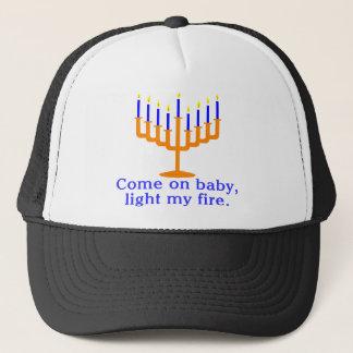Boné Vindo no bebê, ilumine meu fogo