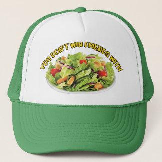 Boné Você não ganha amigos com chapéu da salada