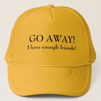 Boné Vou afastado eu tenho bastante amigos