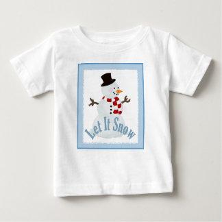 Boneco de neve: Deixais lhe para nevar Tshirt