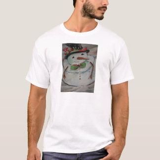 Boneco de neve t-shirt