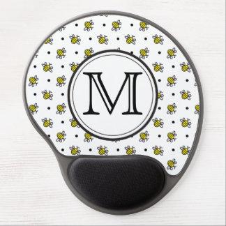 Bonito Bumble o tapete do rato personalizado teste Mouse Pad Em Gel