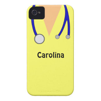 Bonito esfrega a caixa personalizada de Blackberry Capas Para iPhone 4 Case-Mate