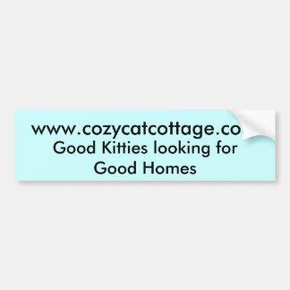 Bons gatinhos que olham para boas casas adesivo para carro