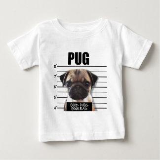 bons pugs idos maus t-shirt