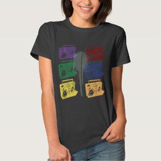 Boomboxes 2 mulheres camiseta