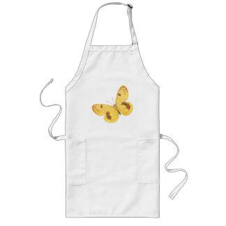 Borboleta amarela - avental das belas artes do