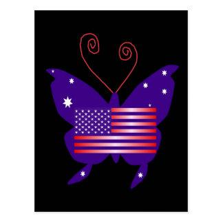 Borboleta americana da diva
