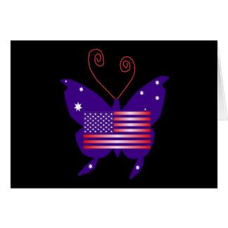 Borboleta americana da diva cartoes
