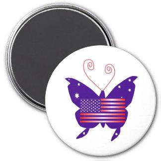 Borboleta americana da diva imãs