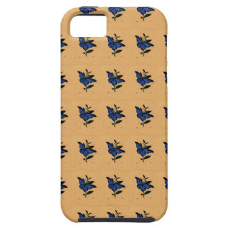 Borboleta Azul Capa iPhone 5 Case-Mate