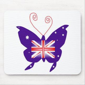 Borboleta britânica da diva mousepad
