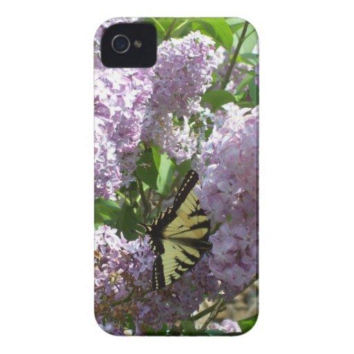 Borboleta corajosa da caixa de Blackberry no desig Capas iPhone 4 Case-Mate