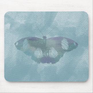 Borboleta da aguarela mouse pads