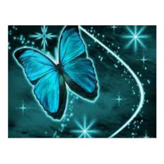borboleta da cerceta cartão postal