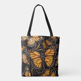 Borboleta de monarca bolsas tote