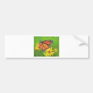 borboleta de monarca em flores